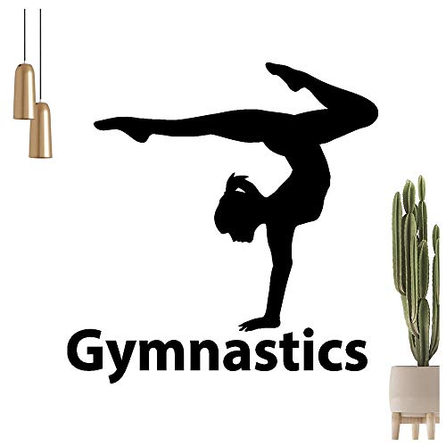 Gymnastics Wandtattoo in 6 Größen - Wandaufkleber Wall Sticker