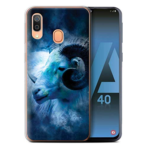 eSwish telefoonhoesje/Cover/Skin/SG-GC/Zodiac Star Sign Collection Samsung Galaxy A40 2019 Aries/Ram