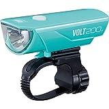 キャットアイ(CAT EYE) LEDヘッドライト VOLT200 USB充電 チェレステ HL-EL151RC 自転車