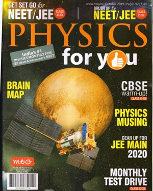 Physics for you English Magazine Monthly Issue October 2019