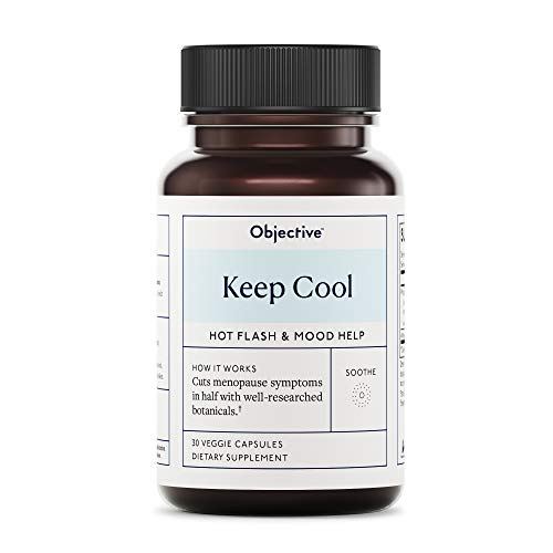Objective - Keep Cool - Hot Flash Support - 30 Veggie Capsules