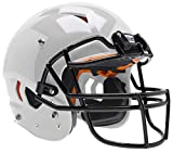 Schutt Sports Vengeance A9 Youth Football Helmet (Facemask NOT Included), White, S/M