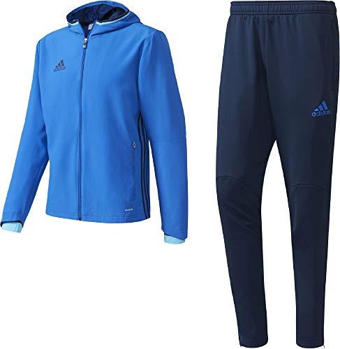 adidas Herren Condivo 16 Präsentation Anzug Trainingsanzug, Blue/Conavy, 2XLT