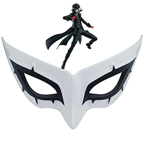 P5 Persona 5 Protagonist Joker Eye Mask Half Face Mask Cosplay Costume Halloween Party Masque