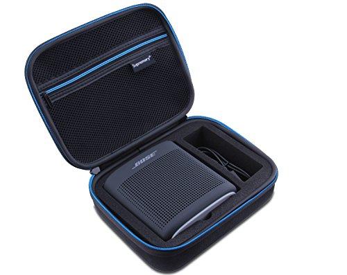 Supremery Bose So&Link Color 2 Bluetooth Lautsprecher Hülle Hülle Eva Reisetasche mit Tragegriff - Wasserabweisend in Schwarz-Blau