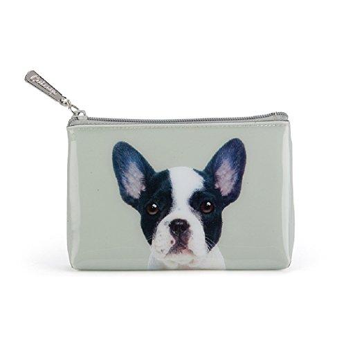 Catseye cosmeticatasje Dog on Stone Pouch Premium Small plat nieuw design hond portemonnee mapje tas klein etui nieuw