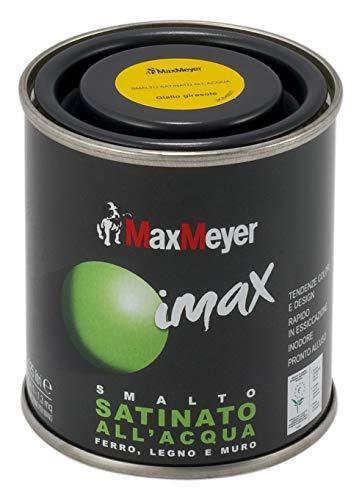 MaxMeyer Smalto satinato all'acqua per ferro e legno Imax ROSSO VENEZIANO 0,125 L