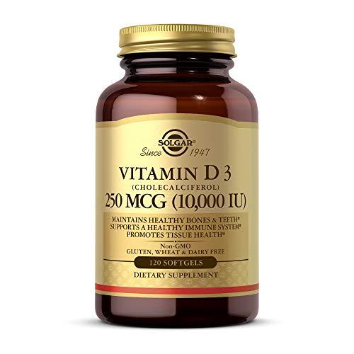 Solgar, Natural Vitamin D3, 10,000 IU, 120...