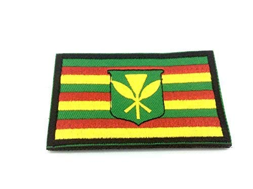 Hawaiian Hawaii Vlag Geborduurde Airsoft Paintball patch
