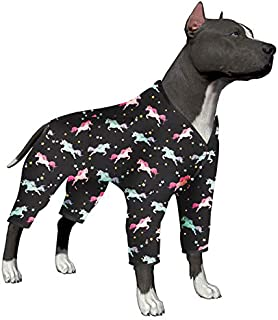 LovinPet Dog Clothes for Large Dogs - Pajamas, Post-Surgical Recovery for Big Dogs, Lightweight Pullover Dog Pajamas, Full...