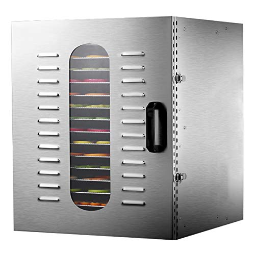Fantastic Deal! Lxn Commercial Stainless Steel Food Dehydrator-Raw Food & Jerky Fruit Dehydrator-150...