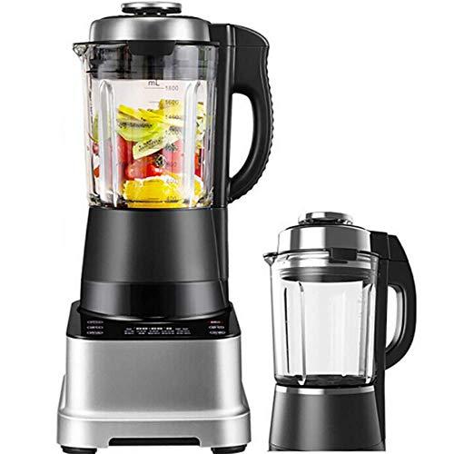 ALK Mixer & Go Standmixer (1500 Watt, 43000 U/min, inkl. BPA-freie & spülmaschinenfeste Tritan-Behälter 1750ml), Ice-Crush, Profi Smoothie Maker,A
