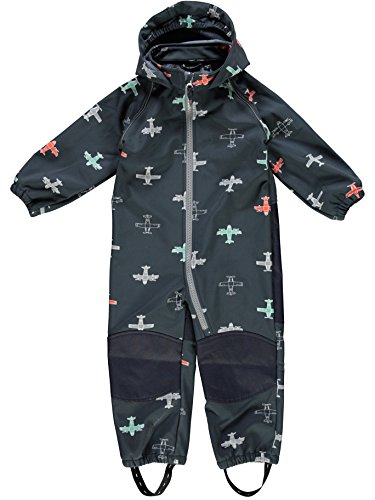 NAME IT Softshell Regen- Overall Schneeanzug NMMALFA Suit 13147280 Sky Captain Gr.80