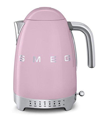 Smeg KLF02PKUS 50er Jahre Retro Style Variable Temperatur Wasserkocher Pink