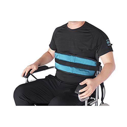 Adjustable Wheelchair Safety Belt Soft Cushion Belt for Bed Wheelchair Safety Harness, Wheelchair Seatbelt SYD02 (green)