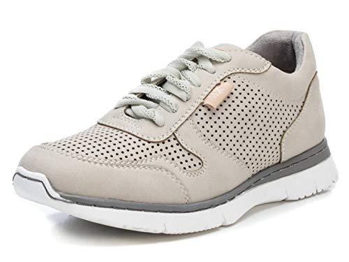 XTI 44096.0, Zapatillas Mujer, Beige (Beige Beige), 39 EU