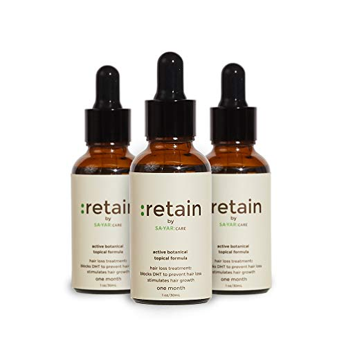 Hair Growth Serum, Dht Blocker Scalp Treatment with Lavender Oil, Cedar Oil, and Rosemary Oil for Hair Growth, Good for 90 days, 30mL - Sayar Care