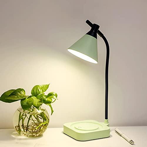 Creativo USB Recargable DIRIGIÓ Lámpara de escritorio plegable Protección de ojos Toque Lámpara de mesa regulable Lámpara LED LED 3 Modos de color (Body Color : D)