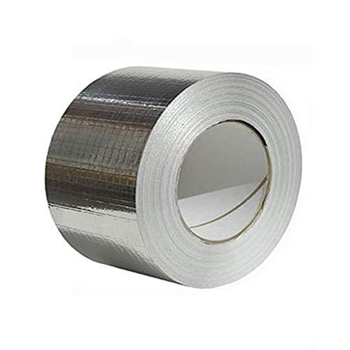 FiedFikt Aluminium Folie Tape Waterdicht & UV Resistant Kosteneffectief Glas Vloer Dak Raam Aluminium Folie Tape, Houd Uw Huis schoon en Tidy