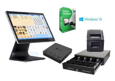 TPV táctil Completo + cajón + Impresora 80mm + Software It