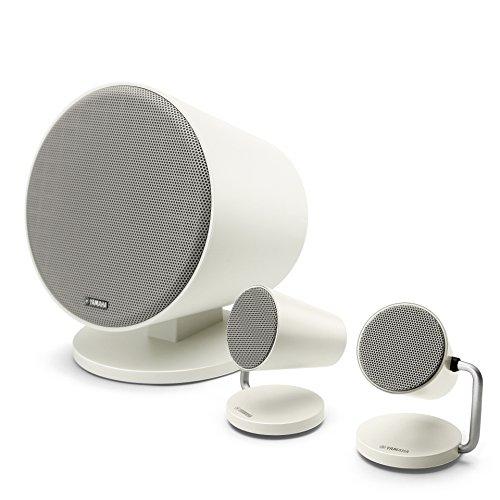 ヤマハ Bluetoothスピーカーシステム 2.1ch/アンプ内蔵/ステレオミニ入力対応 ホワイト NX-B150(W)