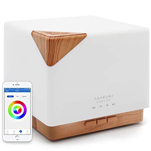 ASAKUKI Smart Oil Diffuser for Aromatherapy