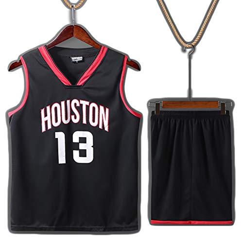 James Harden No. 13 jersey negro, Michael Jordan No. 23 jersey, el mejor jugador de baloncesto de la historia, camiseta de baloncesto de fútbol para niños, material de fibra de alcohol polivinílico