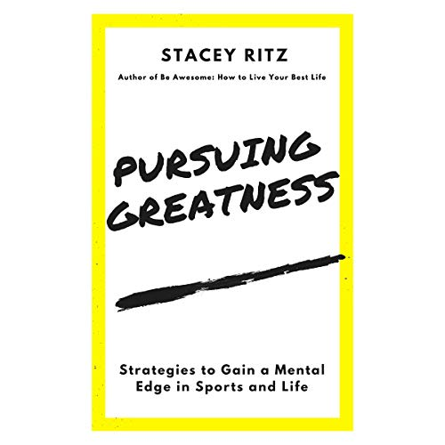 Pursuing Greatness audiobook cover art