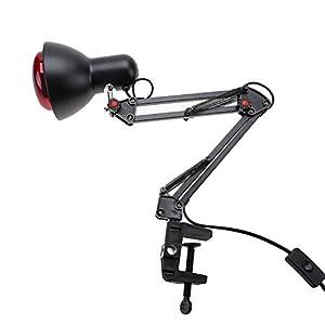 Solomi Terapia de luz infrarroja de la lámpara de Calor-Calor Calor infrarrojo Lámpara de Fisioterapia