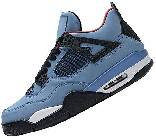 Cream Sail Zapatillas de Baloncesto Hombre Zapatos Retro What The Basketball Bred Sneaker De Basquetbol Casual Basket Cement Union Guava Ice Shoe