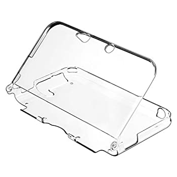 TNP 3DS XL Case - Ultra Clear Crystal Transparent Hard Shell Protective Case Cover Skin Accessory Compatible with Nintendo 3DS XL LL