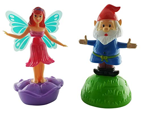 Dancing Toys, Male Gnome and Female Fairy
