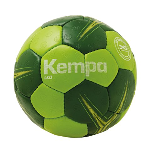 Kempa Leo Basic Profile Ball Handball, Hope grün/Dragon grün, 3