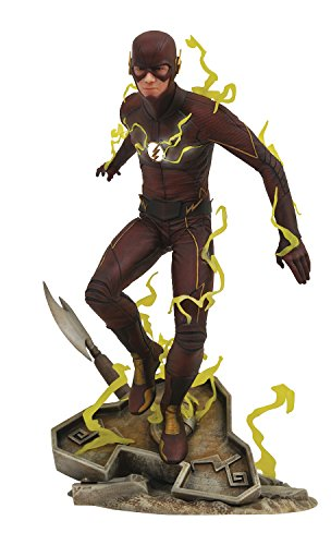 DIAMOND SELECT TOYS DC Gallery Dctv The Flash CW PVC Diorama, Red