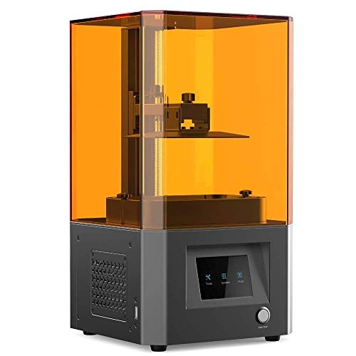 3D Printer LD-002R LCD Molding Technology 2K Micron-Level Accuracy Air Filtering System All-Metal Body+CNC 119X65X160mm ZXLLNEUR