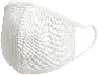 【Amazon限定ブランド】 OUTDOOR HILLS 日本製4層布マスク(抗ウイルスシート1枚付き) (ホワイト, 大人用L)
