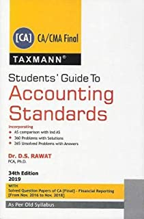 STUDENTS GUIDE TO ACCOUNTING STANDARDS (CA/CMA FINAL ) BY D.S RAWAT