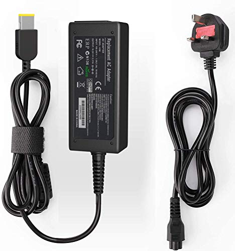 Ywcking Lenovo Laptop Charger 65W, 20V 3.25A Laptop Supply Compatible with Lenovo Ideapad Flex 2 Flex 3 Yoga 11 11S Series, Lenovo Thinkpad Series and More.