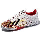 Scarpe da uomo scarpe da calcio antiscivolo scarpe da corsa resistenti all'usura scarpe casual scarpe casual in erba low-top stivali da gioco traspirante per scarpe sportive interne ed esterne scarpe
