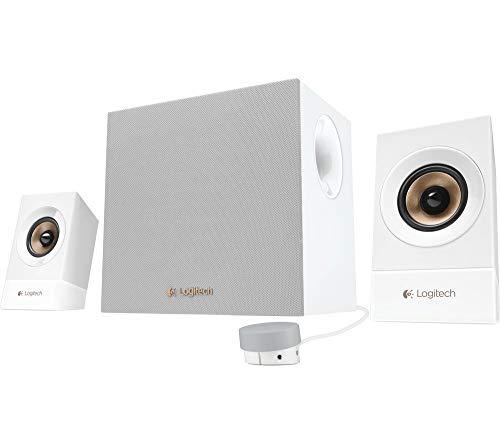 Logitech Z533 Multimedia-Lautsprecher, Weiß (generalüberholt und Zertifiziert)