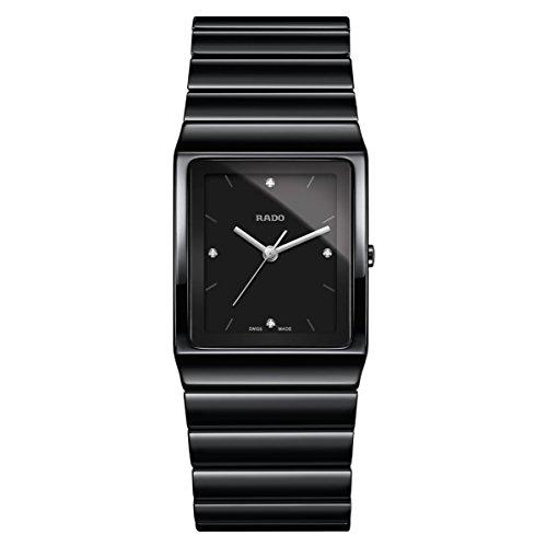 Rado Ceramica dameshorloge diamant armband keramische batterij R21700702