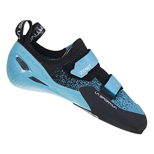 LA SPORTIVA Zenit Woman, Zapatillas de Escalada Mujer, Pacific Blue/Black, 35.5 EU