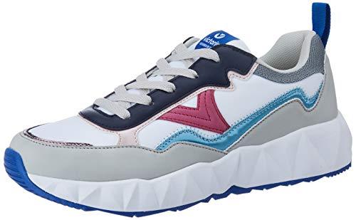 victoria Damen Niedrig 1148108-WOMEN Arista Nylon Multicolor Sneaker Blanco 36