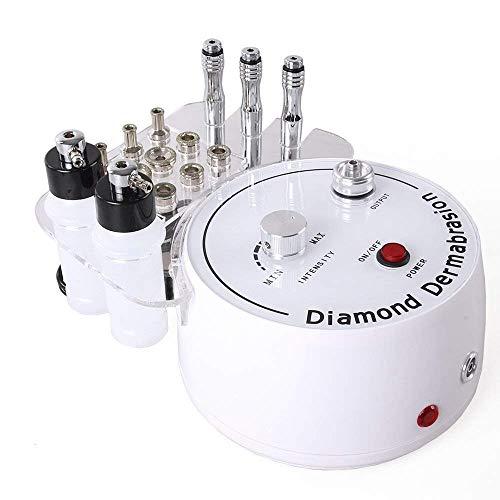 Qcatd 3 En 1 Máquina De Dermoabrasión De Microdermoabrasión De Diamante Equipo Para El Cuidado Facial Del Salón Para Uso Personal En El Hogar (potencia De Succión: 0-55cmHg)