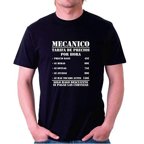 Custom Vinyl Camisetas oficios Personalizadas (Negro, L)