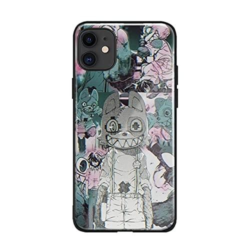 Gleipnir Edit Anime Soft Silicone Glass Phone Case for iPhone SE 6s 7 8 Plus X XR XS 11 12 Mini Pro MAX