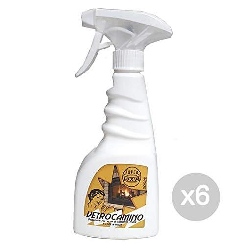 Set 6 Verre Cheminee 500 Ml Spray Nettoyant Accessoire Pour Incendie Du Foyer