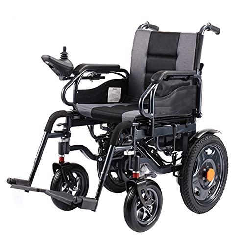 wheelchair Sillas de Ruedas de Transporte livianas Scooters para Ancianos carros sillas de Ruedas portátiles Plegables sillas de Ruedas eléctricas multifuncionales con amortiguación