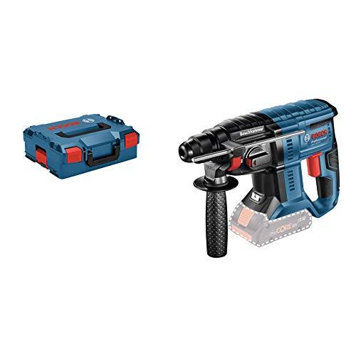 Bosch Professional GBH 18V-20 Accu-boorhamer, 18 V, SDS Plus, klopvermogen: 1,7 joule, boor-Ø max. : beton/staal/hout 20/13/30 mm, zonder batterijen en oplader, in L-boxx.