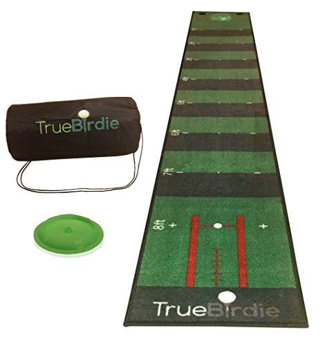 Indoor Putting Green and Golf Mat with Travel Bag 10ft Putting Mat